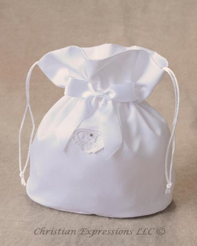 Irish Claddagh FIrst Communion Purse