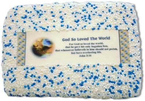 John 3:16 First Communion Sugar Cookie Favors