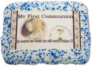 My First Communion Sugar Cookie Favors Boy
