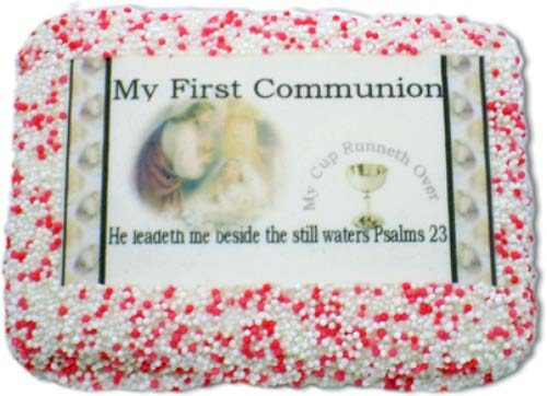 My First Communion Sugar Cookie Favors Girl