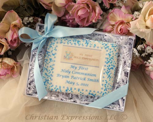 Personalized First Communion Cookie