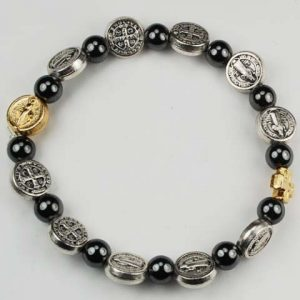 St Benedict First Communion Bracelet for Children
