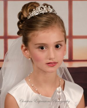 First Communion Crown Tiara-4393
