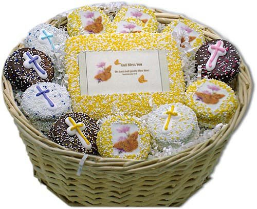 God Bless You Cookie Christian Gift Basket